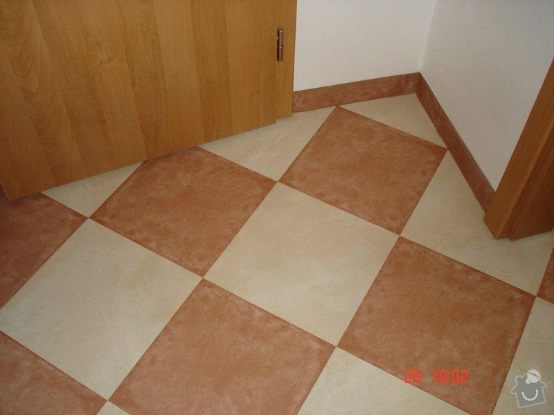 Broušení a stěrkování podkladu,pokládka parket a vinylové podlahy: DSC03067