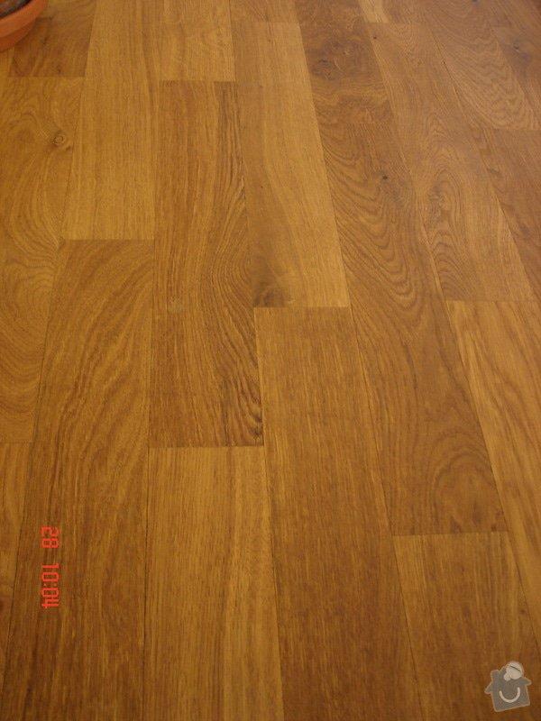 Broušení a stěrkování podkladu,pokládka parket a vinylové podlahy: DSC03074
