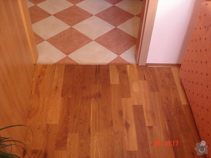 Broušení a stěrkování podkladu,pokládka parket a vinylové podlahy: DSC03077