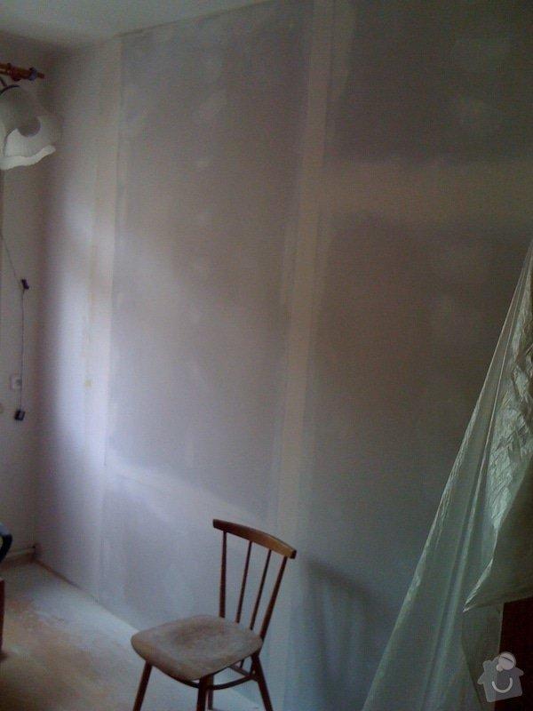 SDK příčka, vyříznutí dveří, obklad kuchyň : IMG_1300