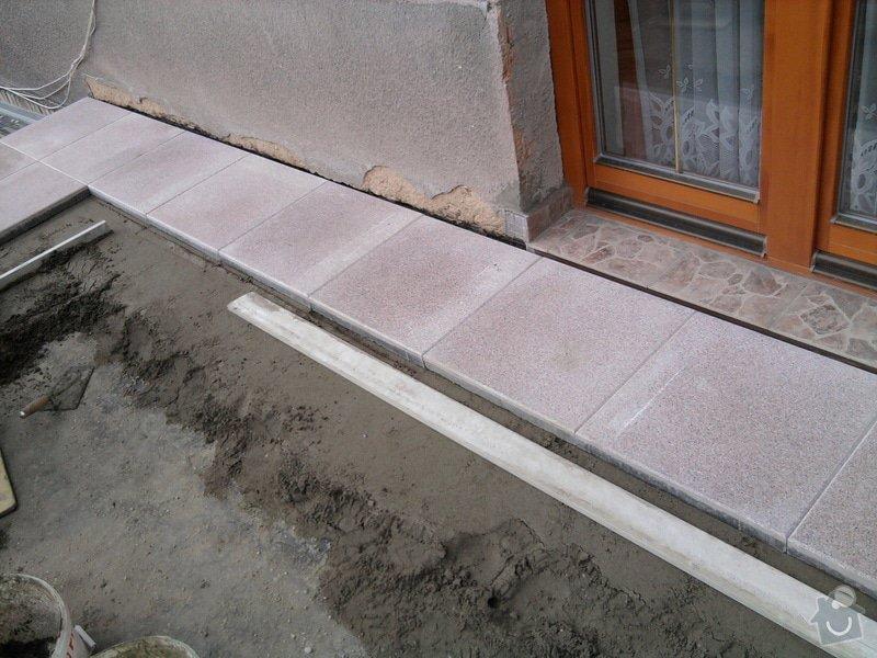 Oprava TERASY, položení izolace, betonu a dlažby: Fotografie0595