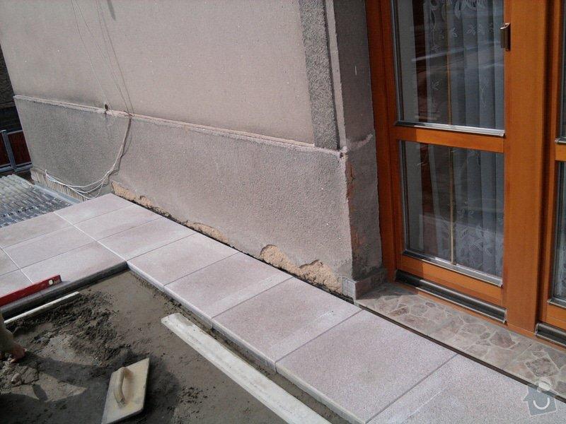 Oprava TERASY, položení izolace, betonu a dlažby: Fotografie0599