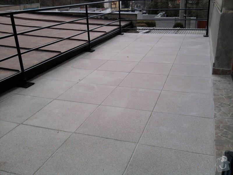 Oprava TERASY, položení izolace, betonu a dlažby: Fotografie0612
