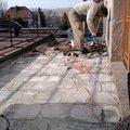 Oprava terasy polozeni izolace betonu a dlazby fotografie0581