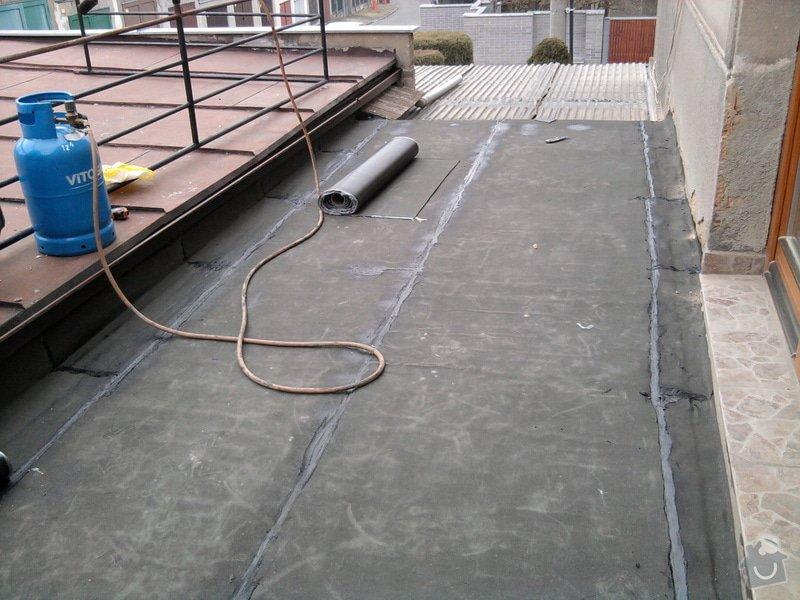 Oprava TERASY, položení izolace, betonu a dlažby: Fotografie0584
