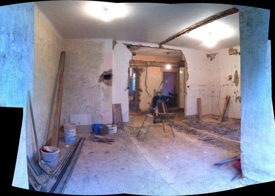 Celková rekonstrukce bytu 80m2 3kk