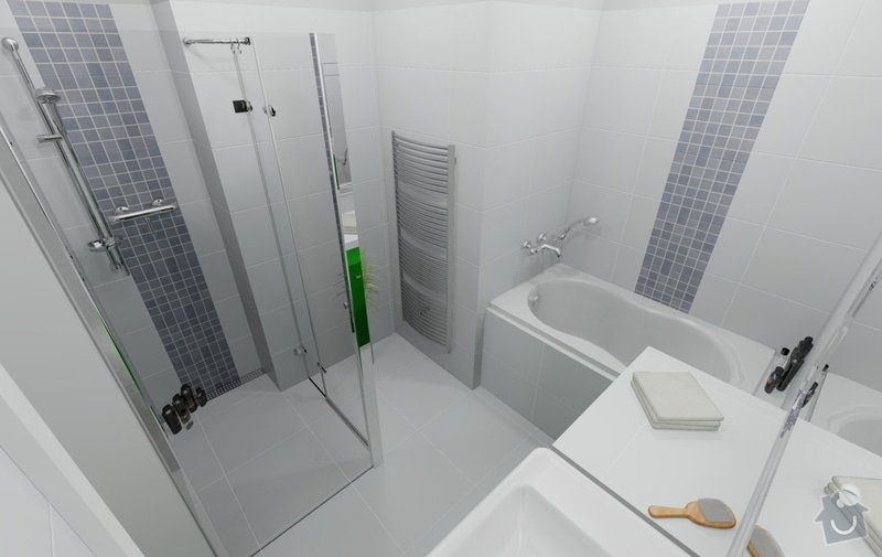 Celková rekonstrukce bytu 80m2 3kk: dovrtel_koupelna_var4_1