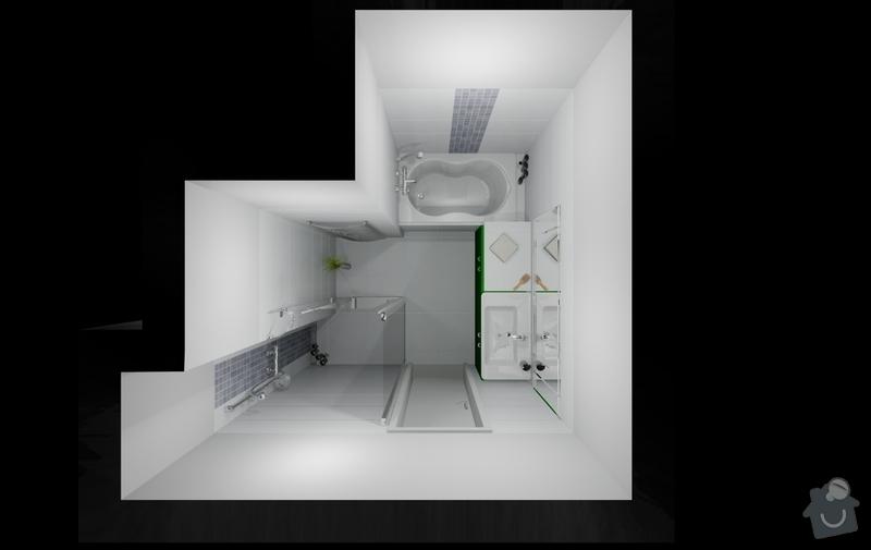 Celková rekonstrukce bytu 80m2 3kk: dovrtel_koupelna_var4_4