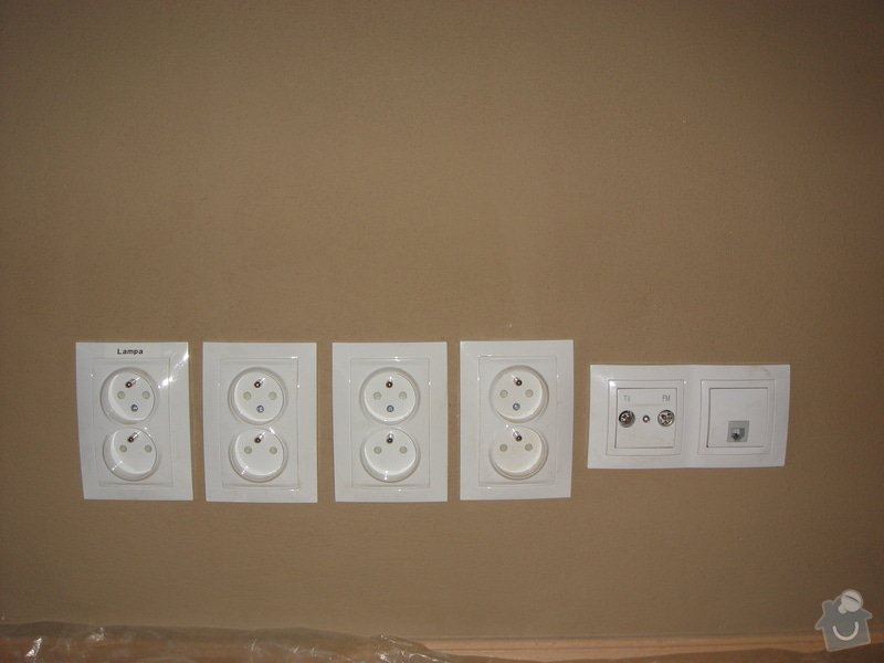 Nová elektroinstalace v bytě 3+1 Vršovice: 005_8_