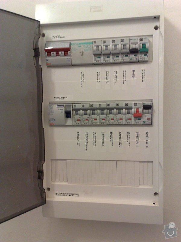 Kompletní nová ELEKTROINSTALACE v 3+1 Smíchov: 018