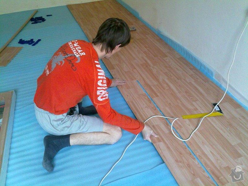 Pokládka plovoucí podlahy: Plovoci_podlaha