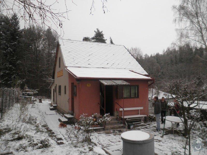 Oprava střechy - chata cca90m2: PB280421