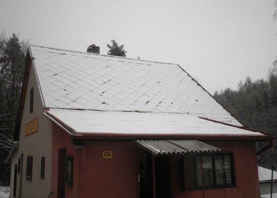Oprava střechy - chata cca90m2