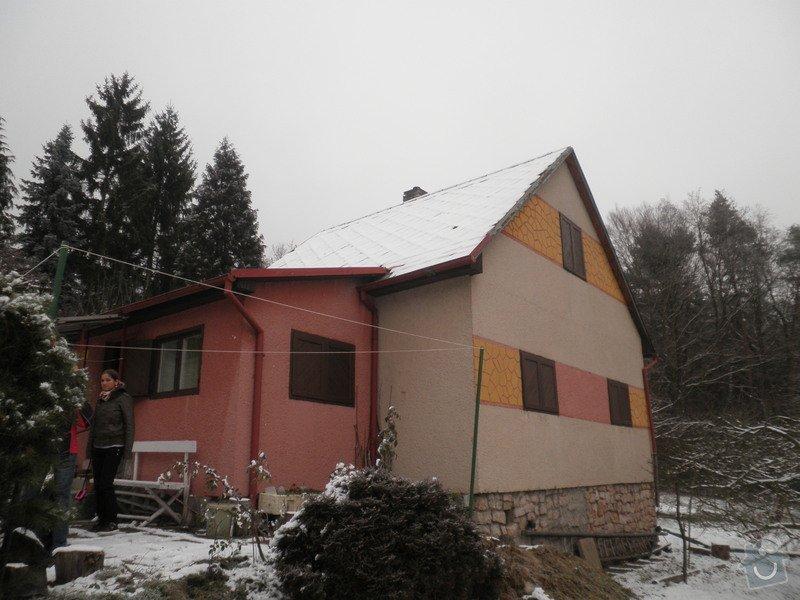 Oprava střechy - chata cca90m2: PB280423