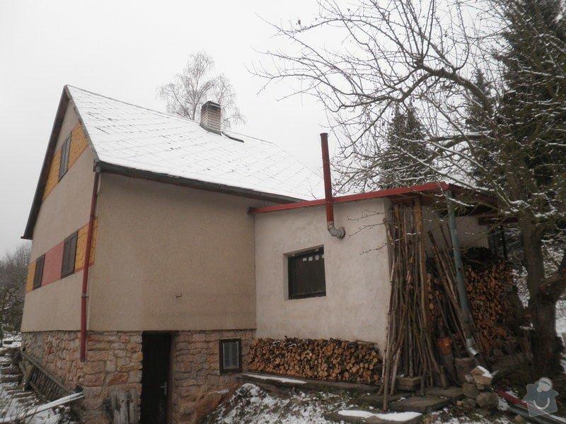 Oprava střechy - chata cca90m2: PB280424