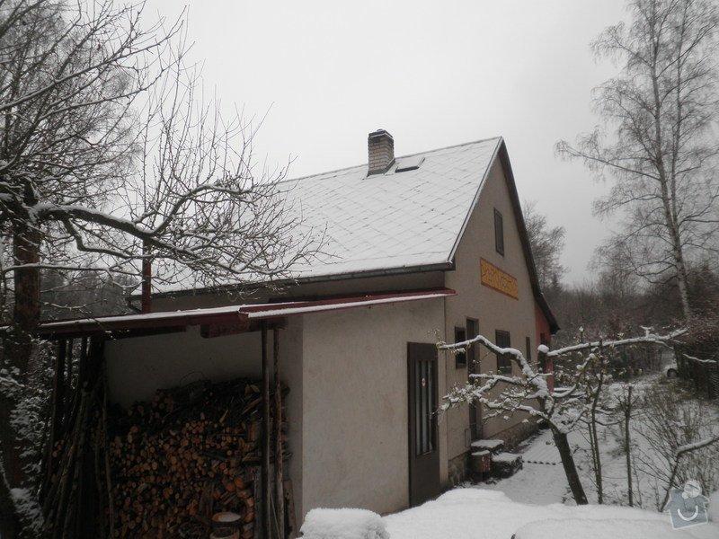 Oprava střechy - chata cca90m2: PB280425