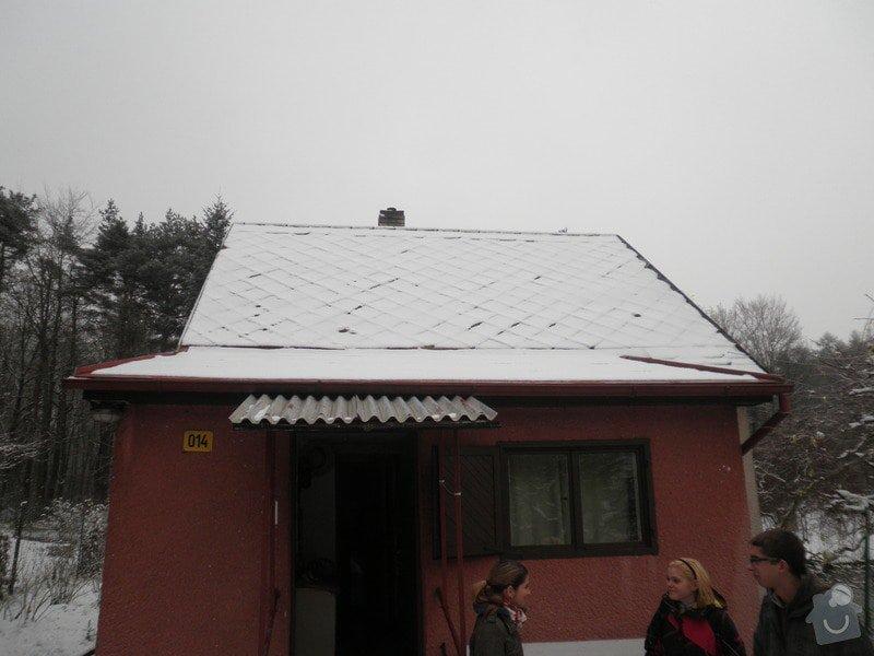 Oprava střechy - chata cca90m2: PB280426