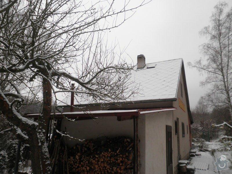 Oprava střechy - chata cca90m2: PB280427