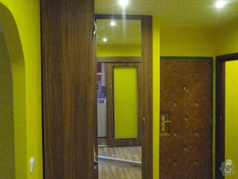 Rekonstrukce chodby a výroba nábytku na míru: P3111435