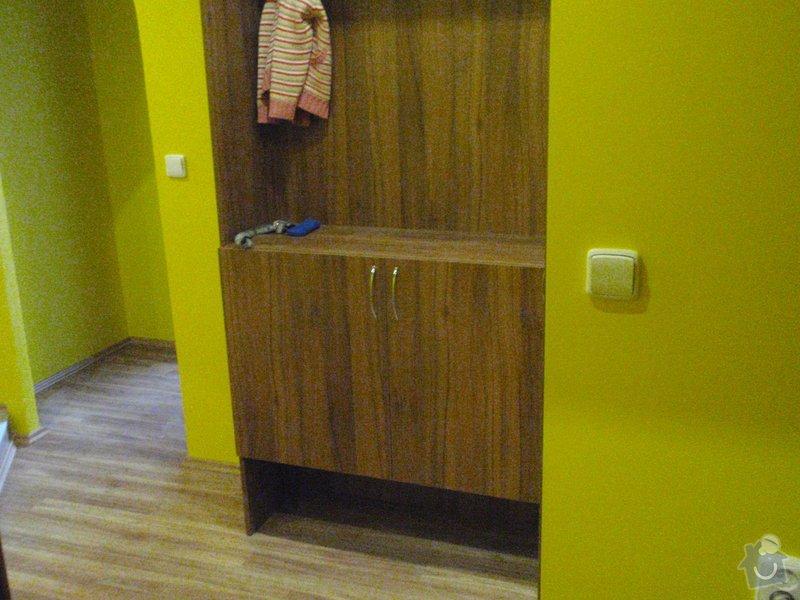 Rekonstrukce chodby a výroba nábytku na míru: P3111436