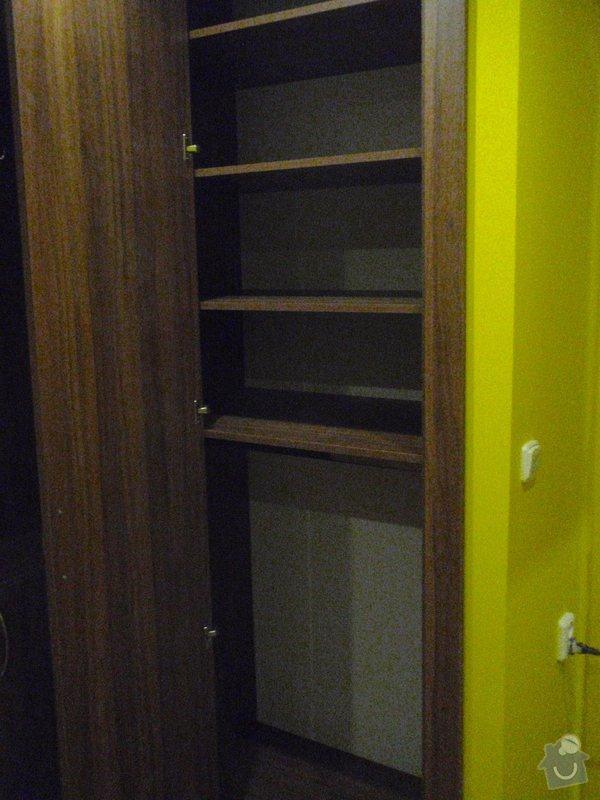 Rekonstrukce chodby a výroba nábytku na míru: P3111438