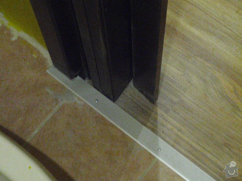 Rekonstrukce chodby a výroba nábytku na míru: P3111449