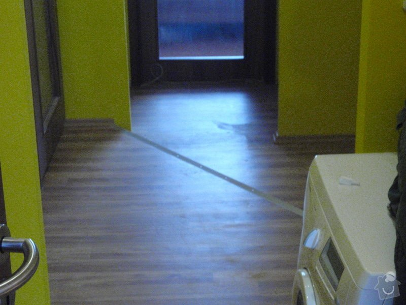 Rekonstrukce chodby a výroba nábytku na míru: P3111452