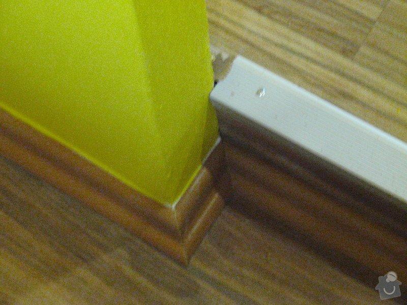 Rekonstrukce chodby a výroba nábytku na míru: P3111453