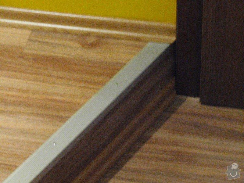 Rekonstrukce chodby a výroba nábytku na míru: P3111454