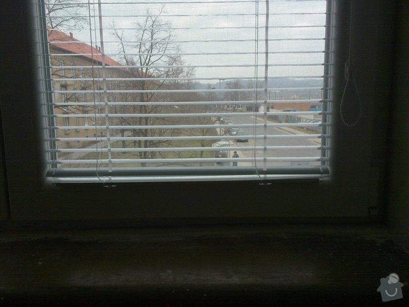 Výměna oken,žaluzie: 25032011089