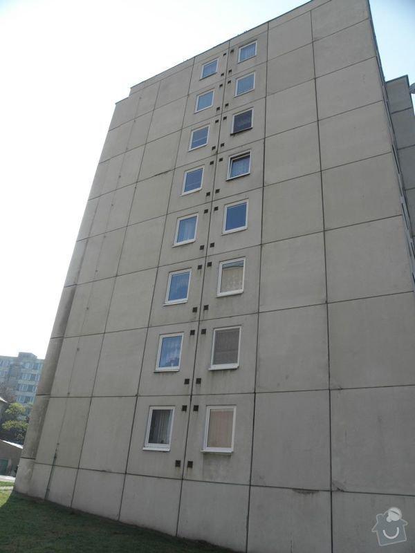 Výměna oken a dveří v panelovém domě 92ks: dum2