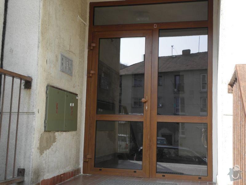 Výměna oken a dveří v panelovém domě 92ks: dvere2