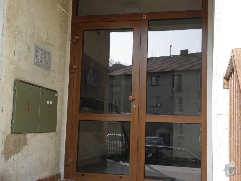 Výměna oken a dveří v panelovém domě 92ks: dvere3