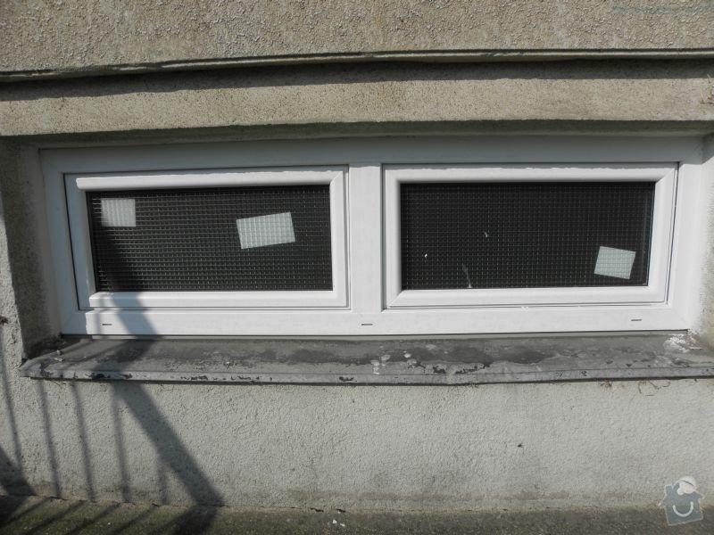 Výměna oken a dveří v panelovém domě 92ks: okno2