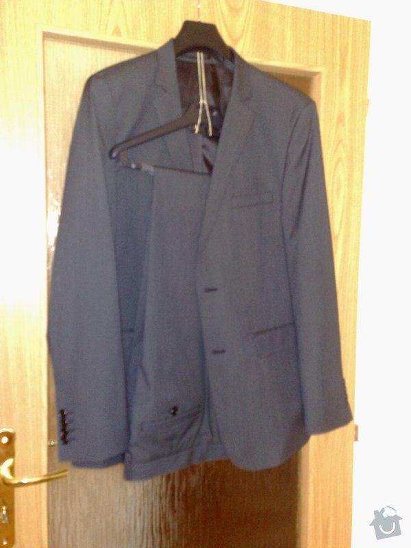 Ušití společenského obleku : oblek