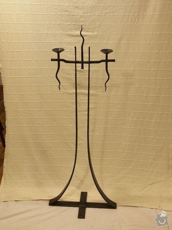 Výroba nejen kovaných svícnů pro reklamní předměty: svicen_P_V