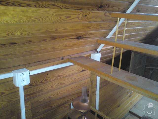 Nízkonákladová elektroinstalace na chatě v Blovicích: DSC00297