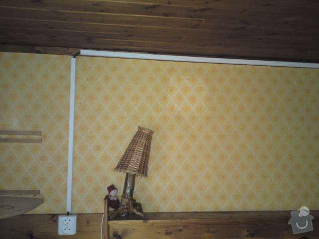 Nízkonákladová elektroinstalace na chatě v Blovicích: DSC00299