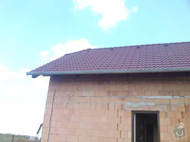 Instalace nového hromosvodu na rodinném domě: DSC00203