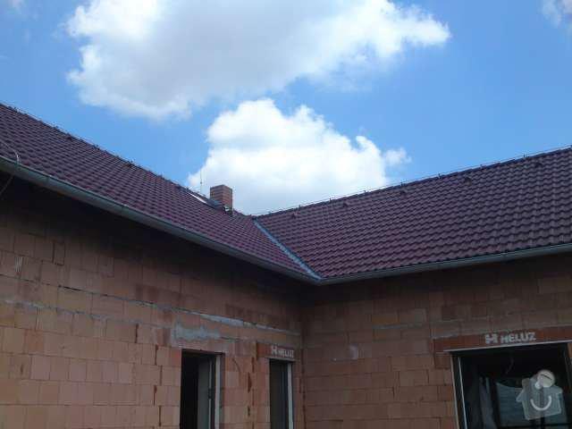 Instalace nového hromosvodu na rodinném domě: DSC00204