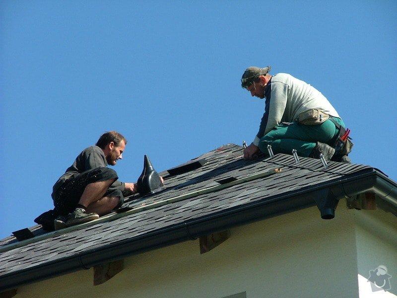 Oprava a dokončení střechy - pokrytí + klempířina: DSCF7107