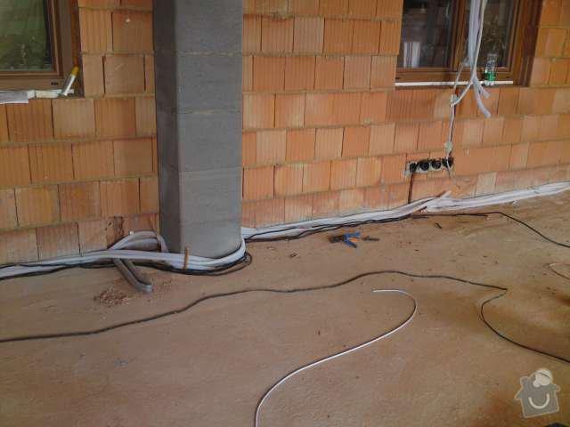 Kompletní elektroinstalace v přístavbě rodinného domu: DSC00161