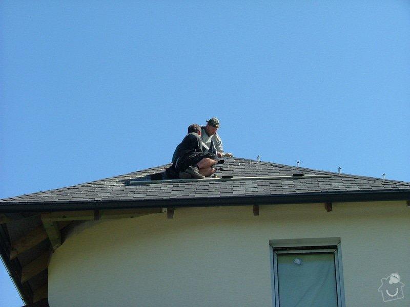 Oprava a dokončení střechy - pokrytí + klempířina: DSCF7098