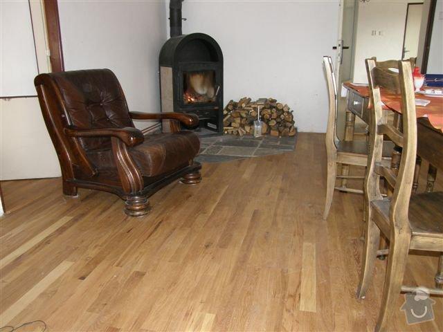 Pokládka dřevěných podlah: 001