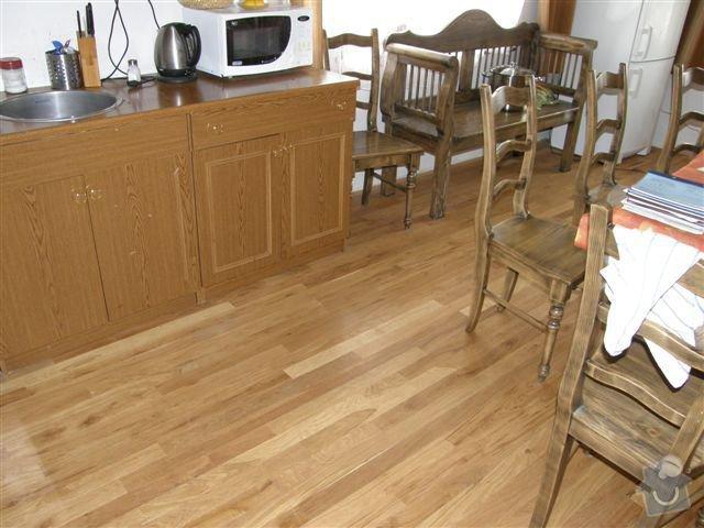 Pokládka dřevěných podlah: 003