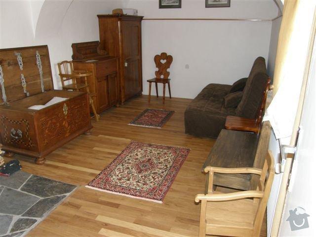 Pokládka dřevěných podlah: 004