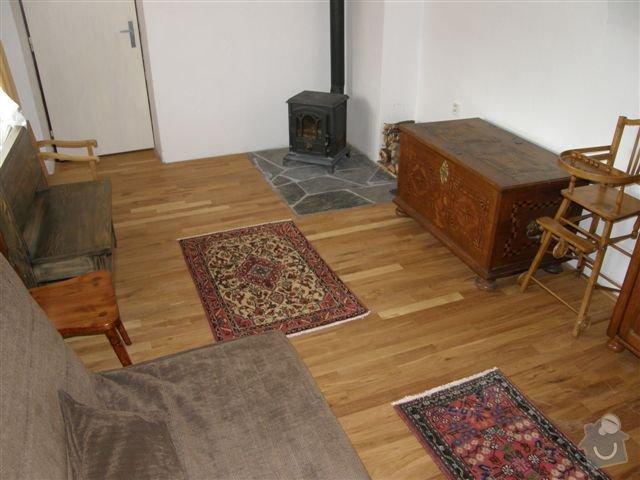 Pokládka dřevěných podlah: 005