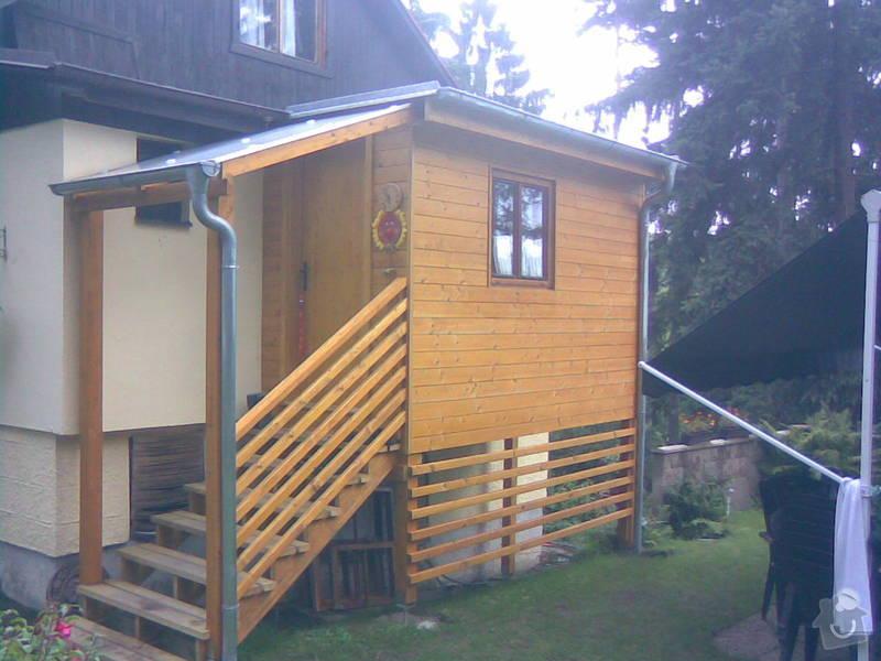 Přístavba chaty, zateplení původní chaty: 02092010_003_