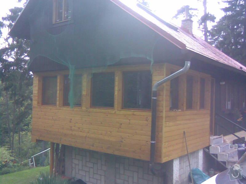 Přístavba chaty, zateplení původní chaty: 03092010_003_