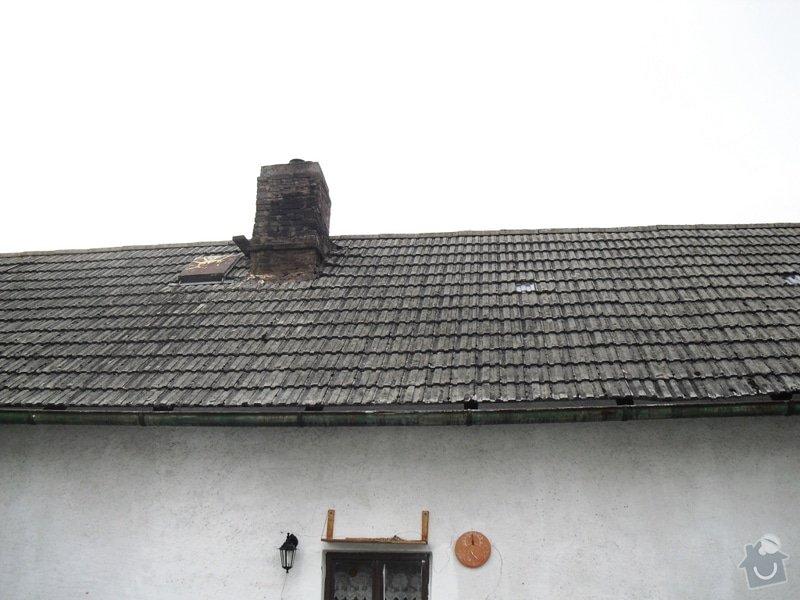 Rekonstrukce sedlové střechy: CIMG0112